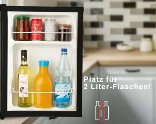 Platz für 2 Liter Flaschen